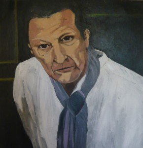 A YOUNGER LUCIEN FREUD