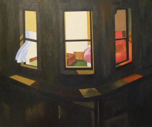 NIGHT WINDOWS EDWARD HOPPER
