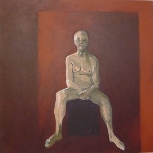 Nude self-portrait 2012