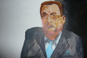 RODNEY MENZIES PORTRAIT SKETCH