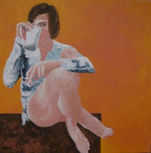 SEATED WOMAN 2014